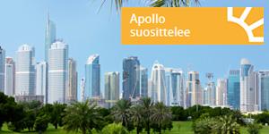 Apollo suosittelee -hotellit helpottavat hotellin valintaa. Varaa nyt helposti ja turvatusti hotellit mistä ja milloin vain